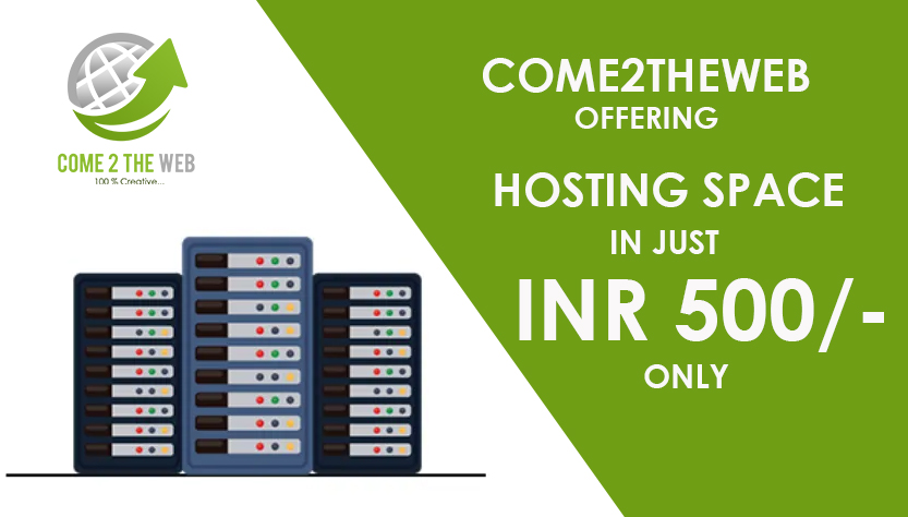 Hosting Space at low cost